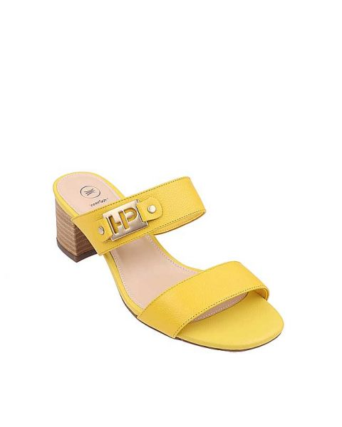 Belinda Sanders In Yellow