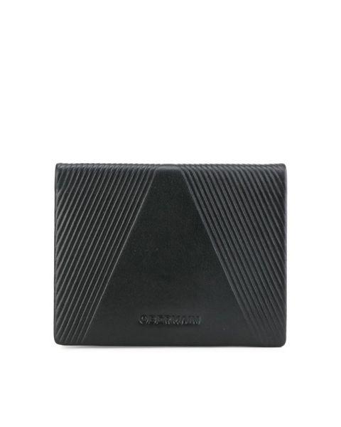 Rfid-Tall Wallet W Flip In Black