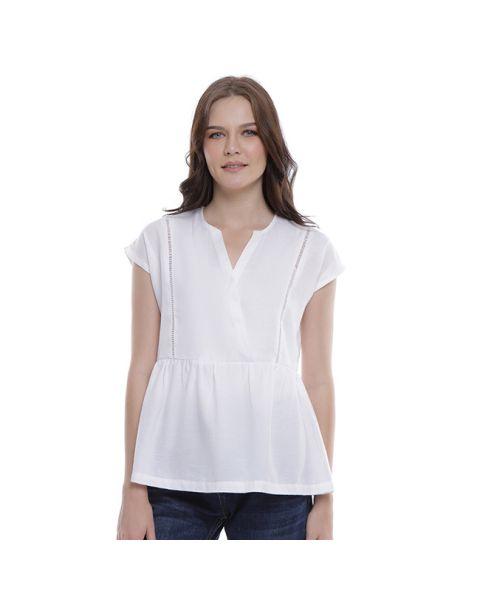 Teodora Blouse In White