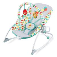 Bright Starts Disney Baby Winnie The Pooh Happy As Can Bee Infant to Toddler Rocker
