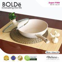 BOLDe Super Pan Wok 28 cm + Lid - Beige