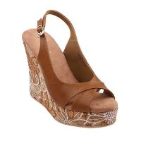 Wedge Oliver In Brown