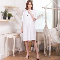 Mebi Dress In White