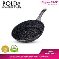 Super Pan Fry Pan 22cm Black Dark Knight