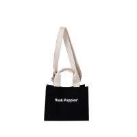 Canvas Tote Bag S In Black