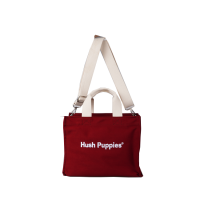 Canvas Tote Bag S In Maroon