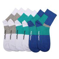 Classic Quarter Socks In Multi Colour