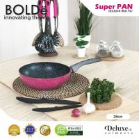 BOLDe Super Pan Wok 28 cm Black Pink