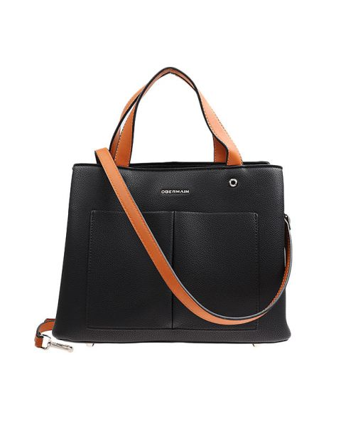 Alyssa Satchel M In Black